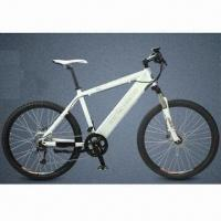 Sports Electric Bike with 34V/7.8Ah LG Cells, 250W 8-Fun Motor, 26-inch Wheel, Shimano 27-speed Gear
