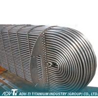 SB 338 GR2 U Titanium Heat Exchanger Tube for Shell / Tube Heat Transfer with Cold Bending Process Manufactures