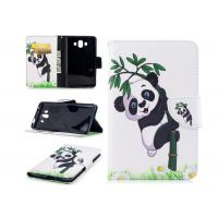 Lovely Panda Smartphone Wallet Case with Card Holder Smooth Or Matting Surface Manufactures