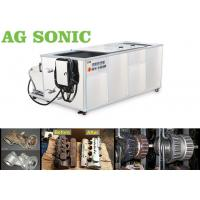 Oil Diesel Engine Block Ultrasonic Cleaning Machine With Oil Filter Transducer 28Khz Manufactures