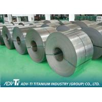 800-1550mm Titanium Strip Coil ,GR5 used for petrochemical , vacuum Manufactures