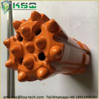 Inserts T45 Thread Top Hammer Retractable Drill Bit Parabolic Or Hemispherical Manufactures