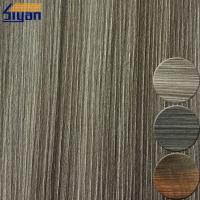 Embossed 0.4mm PVC Furniture Film For Cabinet Cover , ROHS Listed Manufactures
