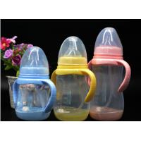BPA Free super wide neck Temperature change color PPSU baby feeding bottle 180ml-300ml Manufactures