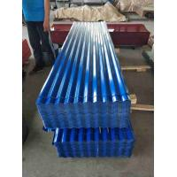 China 24 Gauge Metal Roofing Sheets , ASTM CGCC Galvanized Corrugated Panels on sale