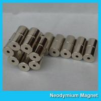Professional Cylinder Strong Neodymium Magnets / Rare Earth Ndfeb N42 Magnet Manufactures
