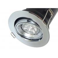 Quality Tilt Fire Rated Downlight - Twist Lock GU10 Downlight - Die-cast Recessed for sale