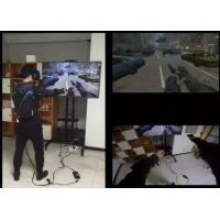 High Immersion Virtual Reality Systems Ultra Realistic For Entertainment / Military Manufactures