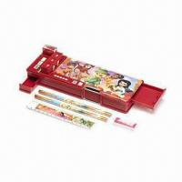 China Fairies Gadget Pencil Case with Eye-catching Tinker Bell Design, Measures 4 x 25.5cm on sale