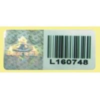 Quality Hologram Lablel with Bar Code for sale