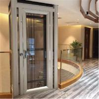 Side Opening Type Glass Personal Home Elevators With Steel Frame Manufactures