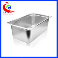 China GN Pan Stainless Steel Food Container / Spice Box Set For School on sale