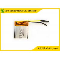 China Li Polymer Battery 3.7 V 150mah LP402025 Small Rechargeable Lithium Ion Battery PL402025 lithium battery on sale