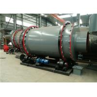 Sludge Rotary Triple Drum Dryer Rotary Industrial Small Size For Building Materials Manufactures