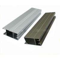 Kitchen Cabinet Aluminium Profile , Powder Coated Extruded Aluminum Profiles Manufactures