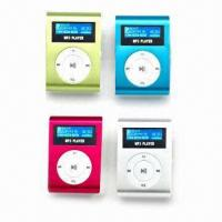 Flash MP3 Player with LCD Screen, Clip and FM Radio Function, Supports USB 2.0 /1.1 Interface Manufactures