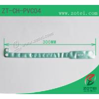 RFID one-time PVC wristband tag (LF/HF/UHF, Product Type:ZT-CH-PVC04) Manufactures