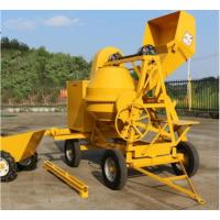 China 500L Mobile Portable Self Loading Concrete Mixer Truck With Air - Cooled Diesel Engine on sale