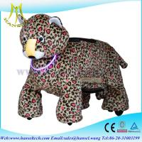 China Hansel motorized animals mountable coin car guangzhou hansel electronical animal rides on sale