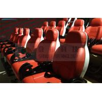 18 Seats 5D Cinema Equipment With Red Chair , Special Effects Manufactures