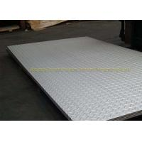 SGS Galvanized Checker Plate Metal Flooring Sheets ASTM A36 A283GRC Manufactures