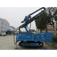 High Power Vibration Hydraulic Piling Rig Without DTH Hammer Manufactures