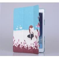 Personalized 360 rotary fold stand PU leather flip cover for tablet Apple ipad air, slim, Manufactures