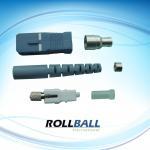 Plastic SC Optical Fiber Connectors Kits , Low Insertion Loss Manufactures