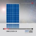 200W Solar Panel (CNCC200-24) Manufactures