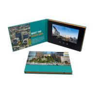 China Advertising promotion video brochure card 7 inch 7inch in print lcd screen book digital catalog on sale