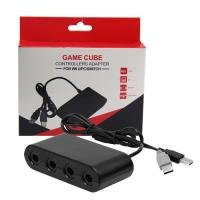 Adapter for Gamecube Controller to Wii U Nintendo Switch PC USB 4 Port Connector Manufactures