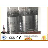 Mulberry Fruit Wine Fermentation Equipment 304 Stainless Steel Material 12 Months Warranty Manufactures
