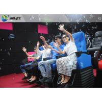 Huge Screen 4D Cinema System Movement Chair Fog Effects 100 Seats Manufactures