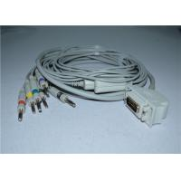 Siemens / Hellige Cardiostat 1 EKG Cable With Leadwires / Banana 4.0mm Manufactures