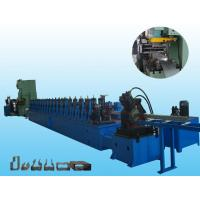 Heavy Duty Metal Steel Rack Upright Making Machine With Cr12 Roller Material Manufactures