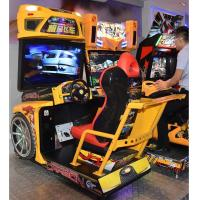 Stunning Visual Enjoyment Racing Game Machine With Big High Definition Screen Manufactures