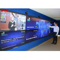Good Vision Effect Interactive Video Wall With Ultra Narrow Bezel 1.7mm Manufactures