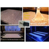China White LED Dance Floor Lights WIith Wireless Remoter  , LED Disco Dance Floor on sale