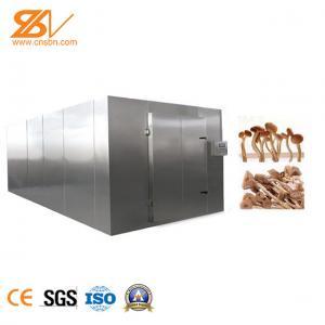 Safety Heat Pump Mushroom Dehydrator Machine Environmental Friendly Manufactures