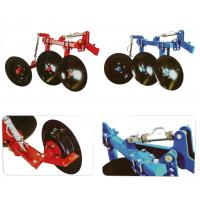 1LS series agriculture equipment disc plough with 2pcs discs used for 12-18hp walking tractor Manufactures