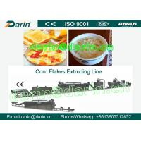 China Continuous Corn Flakes Processing Line Corn Flakes Machinery on sale