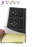 Commercial Product Label Sticker Printing Printed Self Adhesive Labels Manufactures