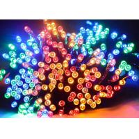 Waterproof Solar Powered Led Christmas Lights , Solar Powered String Garden Lights Manufactures