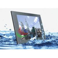 15 Inch Super High Bright Marine Touch Screen , Light Weight Tft Lcd Color Monitor Manufactures