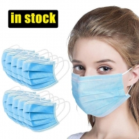 Adjustable Anti Spitting Disposable 3 Layer Individual Mask Manufactures