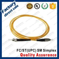 fc-st/upc optic fiber patch cords for structure cabling to patch panel ST SC FC LC black connectors single mode simplex Manufactures