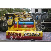 inflatable lion and elephant  bouncer castle Manufactures