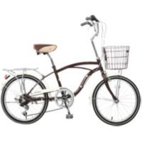 20 city bicycle with steel basket shimano 6 speed derailleur good quality Manufactures