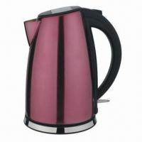 China Electric Kettle, Stainless Steel Housing, 1.8L Capacity on sale