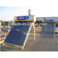 Mechanical Automatic Style Integrated Non-Pressure Solar Energy Water Heater (auxiliary small water tank) Manufactures